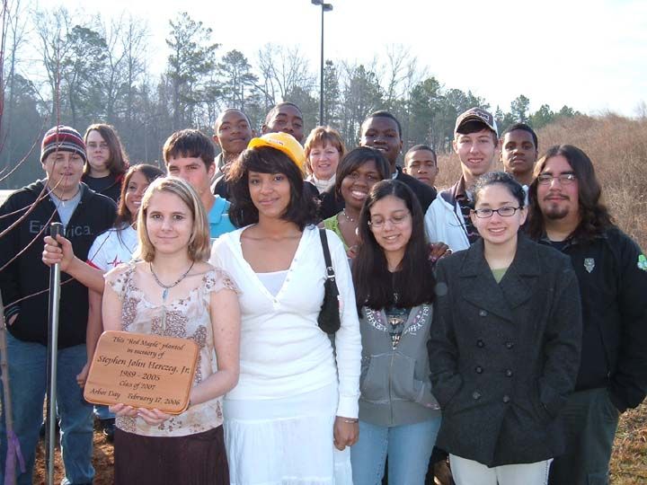 Randy Snider Northside High School Arbor Day-Dedication 2006