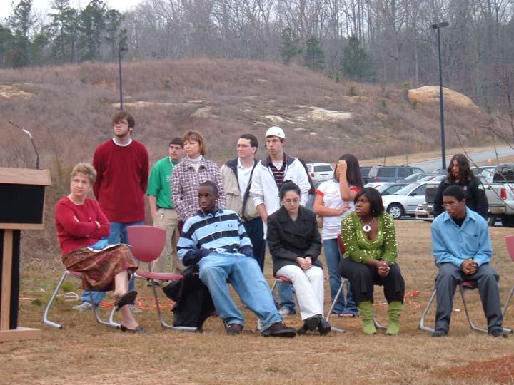 Randy Snider Northside High School Arbor Day-Dedication 2006